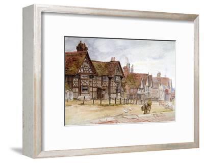 Village Street with Tudor Houses, C1864-1930