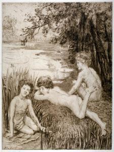 Wild Duck, 1913 by Anna Lea Merritt