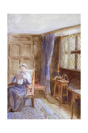 'Woman Reading a Letter', c1864-1930