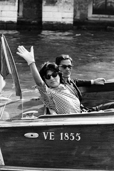 Anna Magnani and Pier Paolo Pasolini--Photographic Print