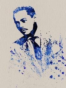 Billy Eckstine Watercolor by Anna Malkin