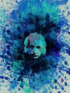 Einstein Watercolor 2 by Anna Malkin