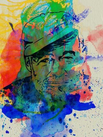 Hemingway Watercolor 2