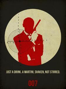 James Poster Black 4 by Anna Malkin