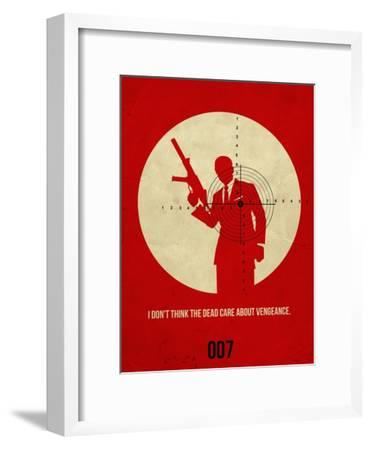 James Poster Red 1
