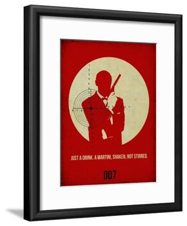 James Poster Red 4