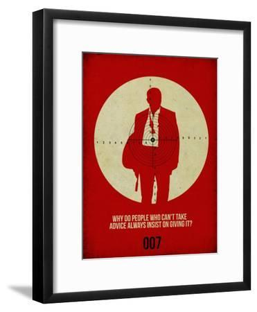 James Poster Red
