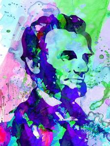 Lincoln Watercolor by Anna Malkin