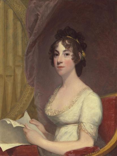 Anna Maria Brodeau Thornton (Mrs. William Thornton), 1804-Gilbert Stuart-Giclee Print