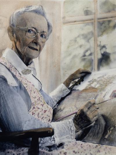 Anna Mary Robertson--Photographic Print