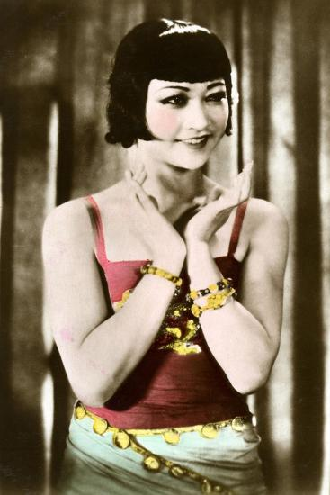 Anna May Wong (1905-196), Chinese-American Actress, 20th Century--Giclee Print