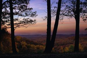 Autumn vista in Brown County State Park, Indiana, USA by Anna Miller