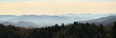Clingmans Dome panorama, Smoky Mountains National Park, Tennessee, USA