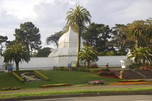 Conservatory, Golden Gate Park, San Francisco, California by Anna Miller