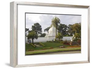 Conservatory, Golden Gate Park, San Francisco, California by Anna Miller