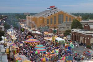 Indiana State Fair, Indianapolis, Indiana, by Anna Miller