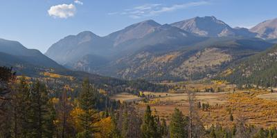 Rocky Mountains National Park Horseshoe Park Meadow, Colorado,USA