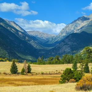 Rocky Mountains National Park Vista, Colorado,USA by Anna Miller