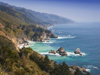 USA, California. California coast, Big Sur region.