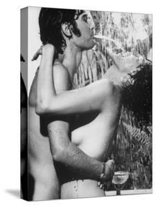 Anna Moffo with Gianni Macchia in Love Scene from A Story of Love