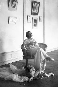 Anna Pavlova Resting after Rehearsal, Early C20th