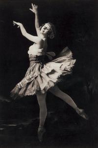 Anna Pavlova the Russian Ballet Dancer
