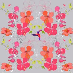 Hibiscus Repeat, 2013 by Anna Platts