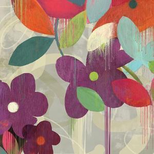 Graffiti Flower I by Anna Polanski