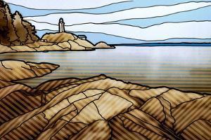 Graphic Lighthouse by Anna Polanski