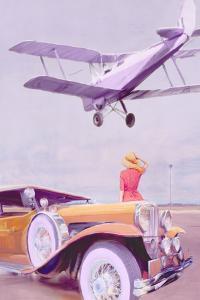 Vintage Airport by Anna Polanski