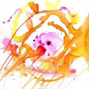 Watercolour Abstract V by Anna Polanski
