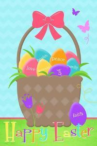 Happy Easter Basket by Anna Quach