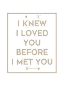 I Knew I Loved You by Anna Quach