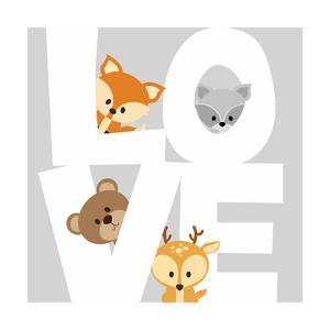 Woodland Love by Anna Quach