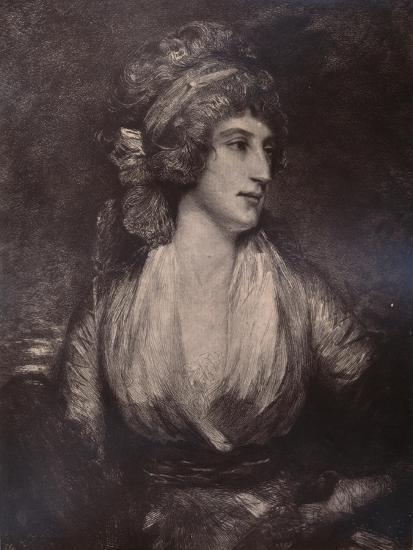 Anna Seward, English writer and poet, c late 18th or early 19th century (1894)-Unknown-Giclee Print