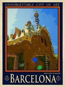 Barcelona Spain 2 by Anna Siena