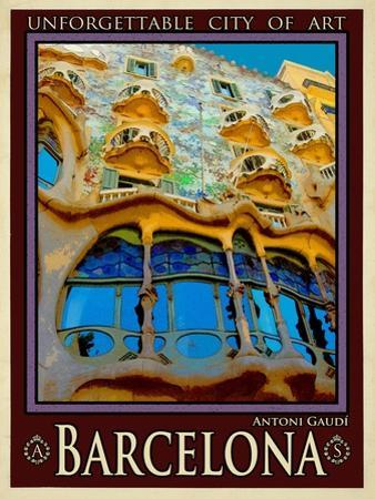 Barcelona Spain 5 by Anna Siena