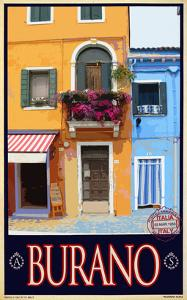 Burano Window, Italy 1 by Anna Siena