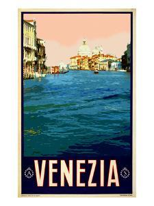 Canal in Venice Italy 2 by Anna Siena