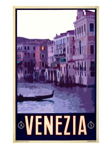 Canal in Venice Italy 4 by Anna Siena