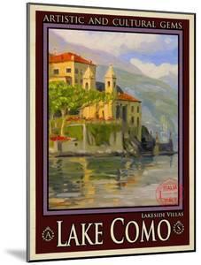 Lake Como Italy 2 by Anna Siena
