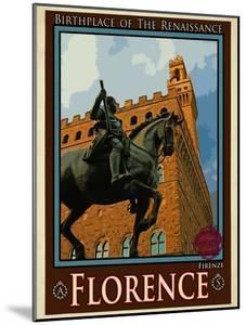 Piazza Della Signoria. Florence Italy 4 by Anna Siena
