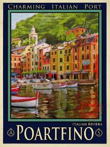 Poartfino Italian Riviera 2 by Anna Siena