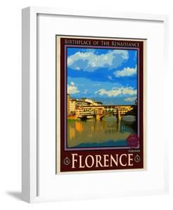 Ponte Vecchio, Florence Italy 1 by Anna Siena