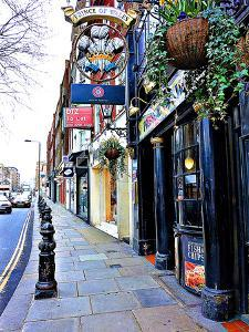 Prince of Wales Bar, Knightsbridge, London by Anna Siena