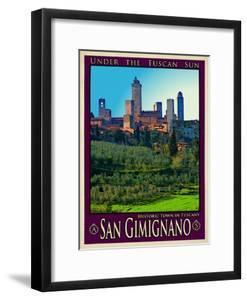 San Gimignano Tuscany 10 by Anna Siena