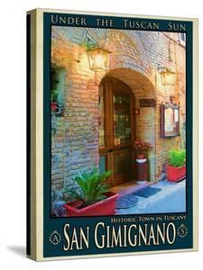 San Gimignano Tuscany 9 by Anna Siena