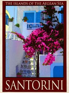 Santorini Greece 3 by Anna Siena