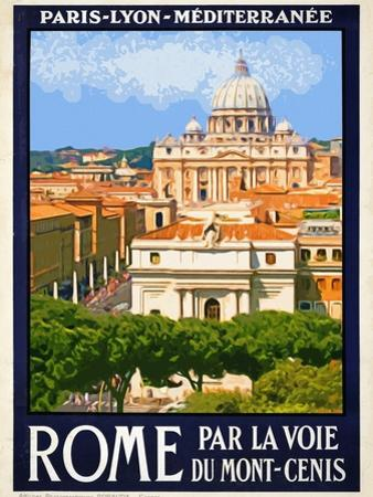 St. Peter's Basilica, Roma Italy 6 by Anna Siena