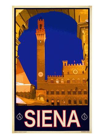 Tower in Siena Italy 2